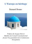 Couverture livre publié en autoédition : L'Europe en héritage