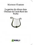 Couverture livre publié en autoédition : La gestion du silence dans Ostinato...