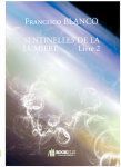 Couverture livre publié en autoédition : SENTINELLES DE LA LUMIERE...