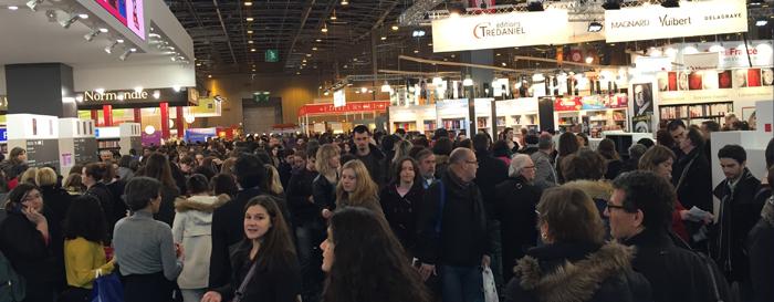 Bookelis - Bilan du Salon du Livre de Paris 2015 pour l'autoédition