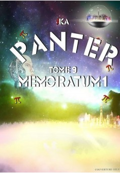 PANTER - Tome 9 - MEMORATUM 1 - Couverture Ebook auto édité