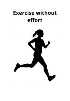 Exercise without effort - Couverture Ebook auto édité