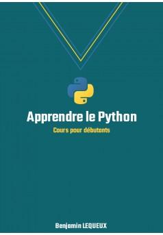 Apprendre le Python - Couverture Ebook auto édité