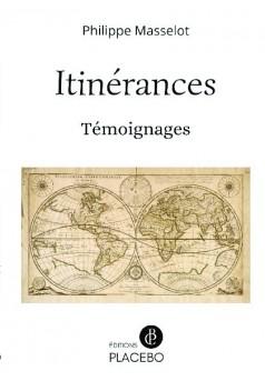 Itinérances - Couverture de livre auto édité