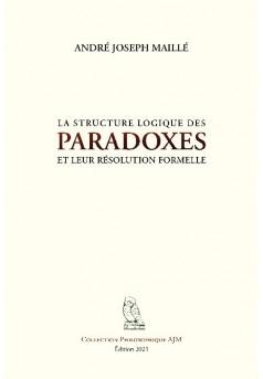 La structure logique des paradoxes et leur résolution formelle - Couverture de livre auto édité