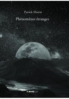 Phénomènes étranges - Couverture de livre auto édité