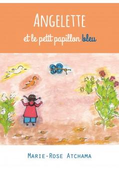Angelette et le petit papillon bleu - Couverture Ebook auto édité