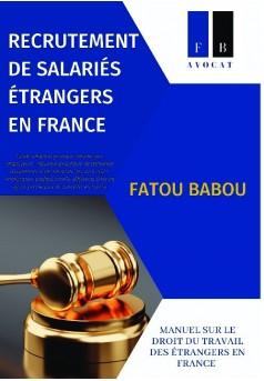 RECRUTEMENT DE SALARIÉS ÉTRANGERS EN FRANCE - Couverture de livre auto édité