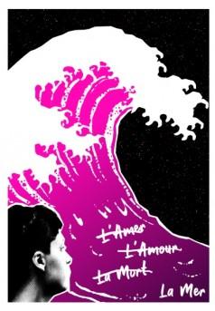 l'amer, l'amour, la mort, la mer - Couverture de livre auto édité