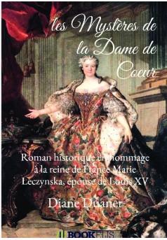 les Mystères de la Dame de Coeur - Couverture de livre auto édité