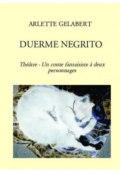 DUERME NEGRITO - Couverture de livre auto édité
