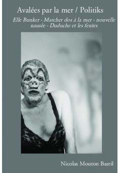Avalées par la mer / Politiks - Couverture de livre auto édité