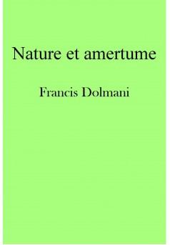 Nature et amertume - Couverture Ebook auto édité