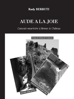 AUDE A LA JOIE - Couverture de livre auto édité