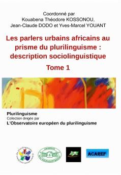 Les parlers urbains africains au prisme du plurilinguisme - Couverture Ebook auto édité