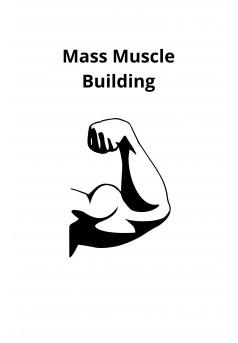Mass Muscle Building - Couverture Ebook auto édité