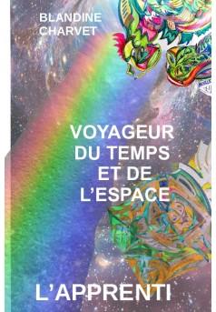 VOYAGEUR DU TEMPS ET DE L'ESPACE - Couverture de livre auto édité