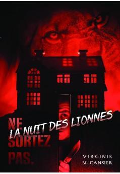 La nuit des lionnes - Couverture de livre auto édité