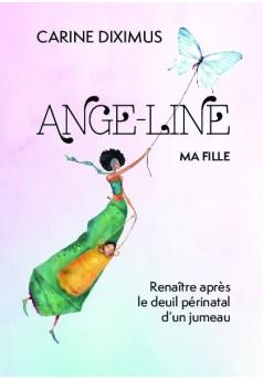 Ange-Line, ma fille - Couverture de livre auto édité