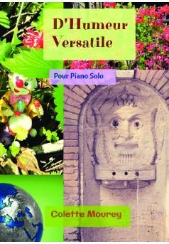 D'Humeur Versatile - Couverture de livre auto édité