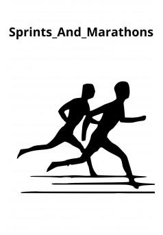 Sprints_And_Marathons - Couverture Ebook auto édité