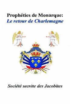 Prophéties de monarque - Couverture de livre auto édité