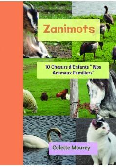 Zanimots - Couverture de livre auto édité
