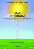 Couverture du livre autoédité JEAN EST SON NOM