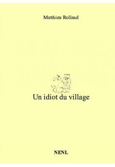 un idiot du village - Couverture de livre auto édité