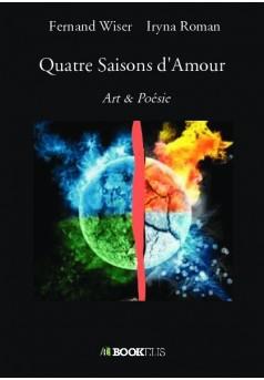 Quatre Saisons d'Amour - Couverture de livre auto édité