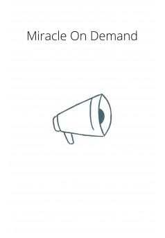 Miracle On Demand - Couverture Ebook auto édité