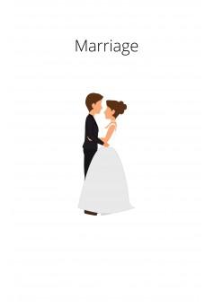 Marriage - Couverture Ebook auto édité
