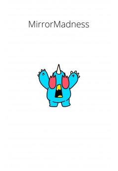 MirrorMadness - Couverture Ebook auto édité