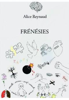FRÉNÉSIES - Couverture de livre auto édité