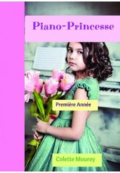 Piano-Princesse - Couverture de livre auto édité