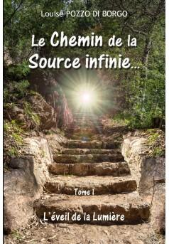 Le Chemin de la Source infinie... - Couverture de livre auto édité