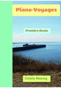 Piano-Voyages - Couverture de livre auto édité