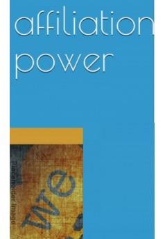 power affiliation  - Couverture Ebook auto édité