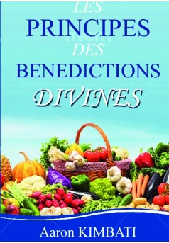 LES PRINCIPES DES BENEDICTIONS DIVINES - Couverture de livre auto édité