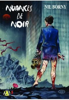 NUANCES DE NOIR - Couverture de livre auto édité
