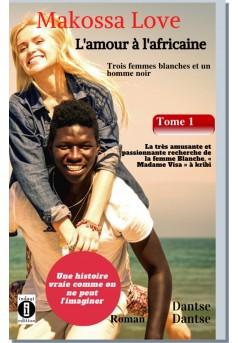 La très amusante et passionnante recherche de la femme blanche, « Madame Visa »  - Couverture Ebook auto édité