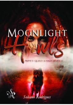 Moonlight Howls - Couverture de livre auto édité