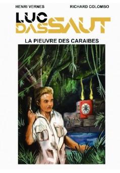 La Pieuvre des Caraïbes - Couverture de livre auto édité
