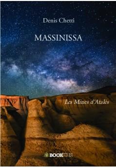 MASSINISSA - Couverture de livre auto édité