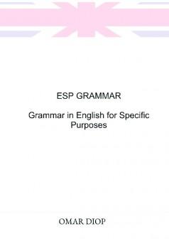 ESP GRAMMAR - Couverture de livre auto édité