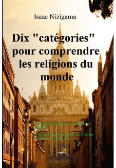 """Dix """"catégories"""" pour comprendre les religions du monde  - Couverture de livre auto édité"""