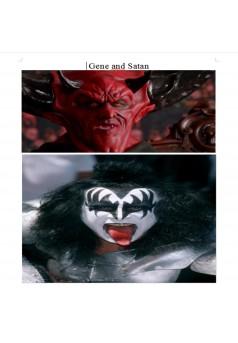 Gene and Satan  - English - Couverture Ebook auto édité