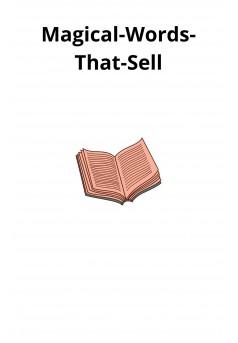 Magical-Words-That-Sell - Couverture Ebook auto édité