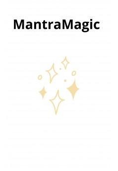 MantraMagic  - Couverture Ebook auto édité