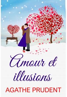Amour et illusions - Couverture Ebook auto édité